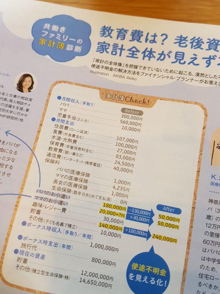 保育園でもらった冊子がママの月収56万とかパパの小遣いか月18万とか突っ込みどころしかない