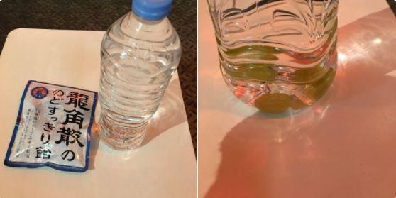 冬の乾燥から喉を守る飲み物(龍角散の飴)