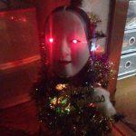 クリスマスツリーに能面つけるとヤバイ