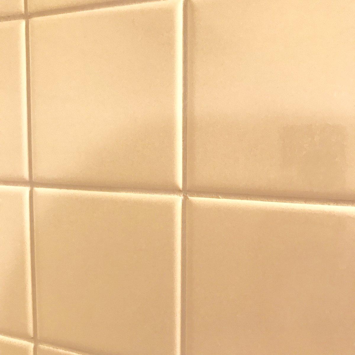 お風呂場のタイルのカビ退治