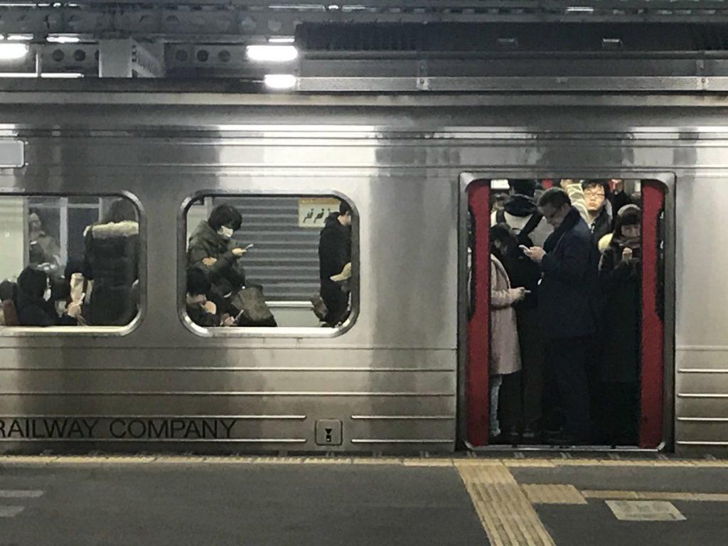 東京のマナーは難しい...