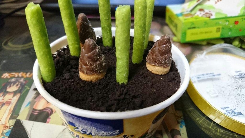 食べられるジオラマ「竹林」