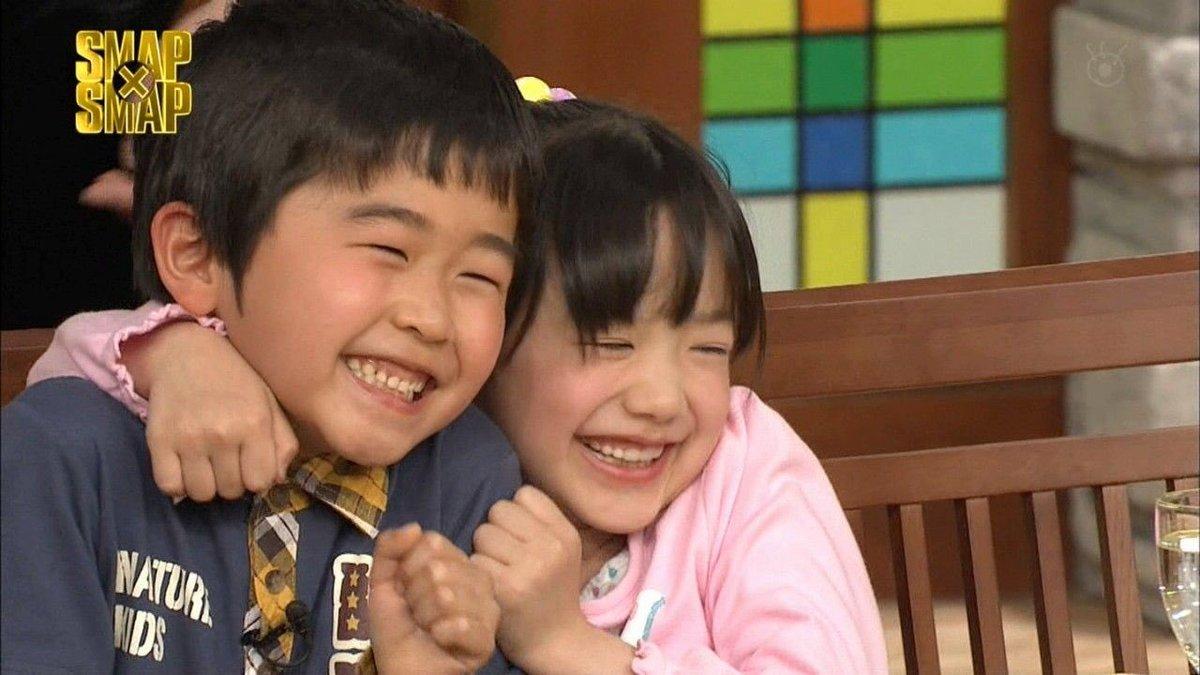 スマスマ出演時はこんなに幼く仲良しでした。