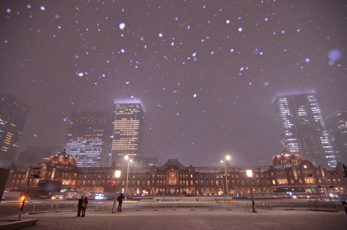 東京に雪が降るとどんな写真が撮れますか?