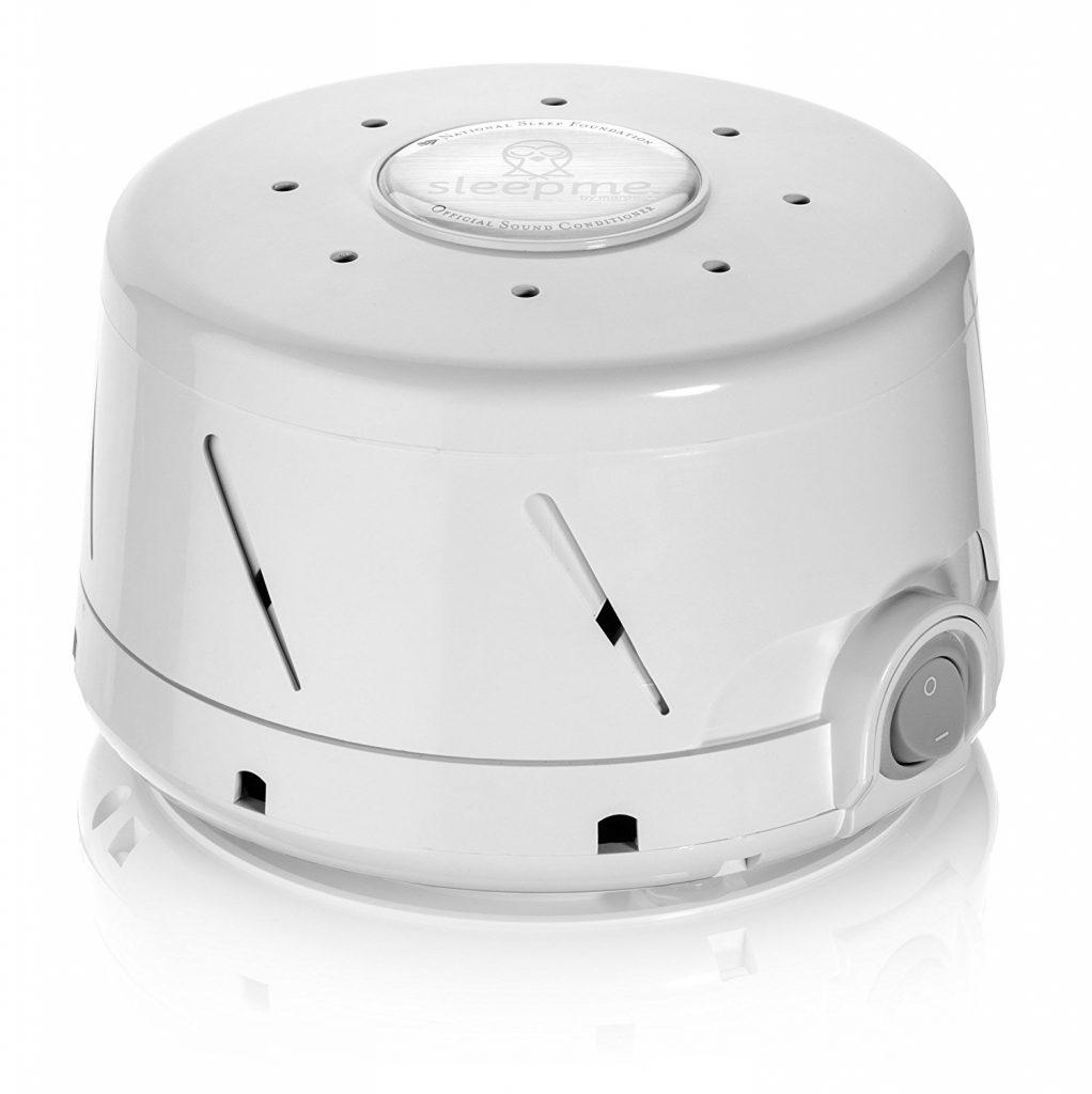 部屋に雑音を発生させる機械(ホワイトノイズマシン)
