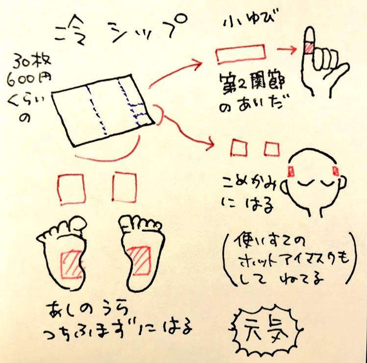 疲れが簡単に取れる小指湿布の効果