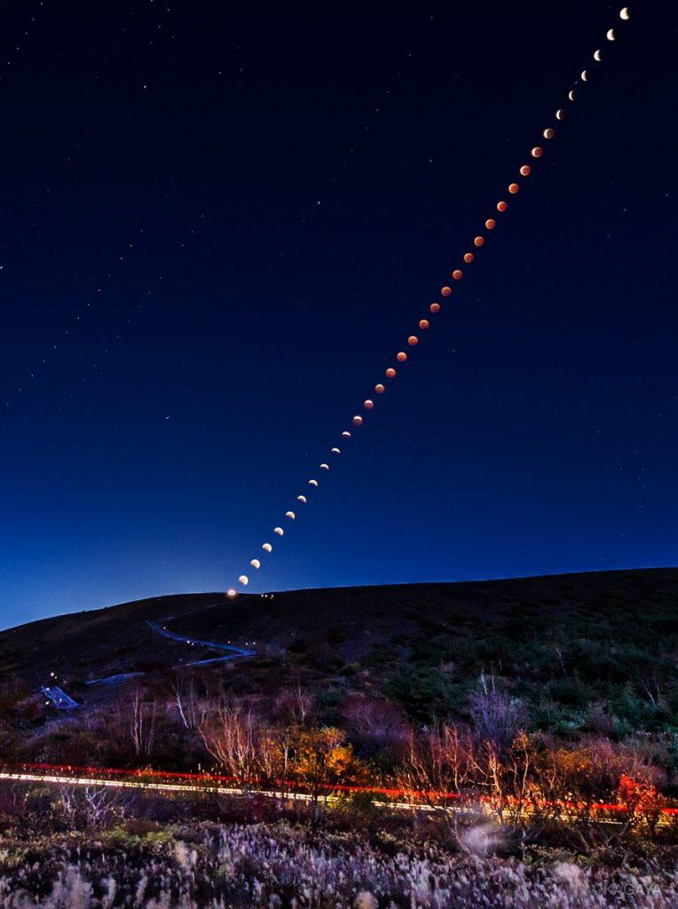 1/31(水)全国で皆既月食が見られます。