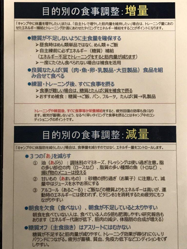 【増量と減量】ヤクルトスワローズの目的別食事法