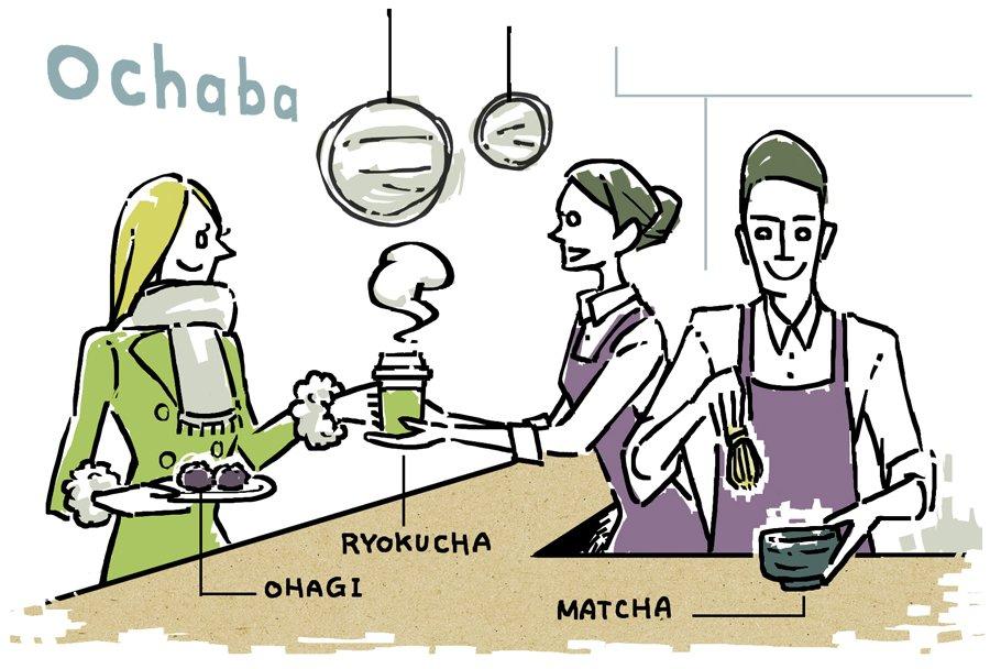 美味しい日本茶が気軽に飲めるお店『ochaba』