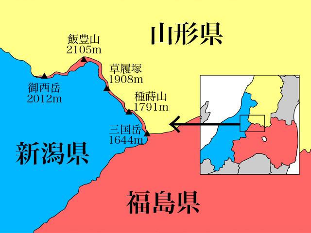 県境マニアの憧れ「福島県の盲腸県境」