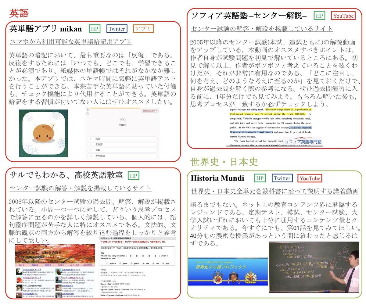 【高校生向け】ネット上の「無料かつ優良な教育コンテンツ」まとめ