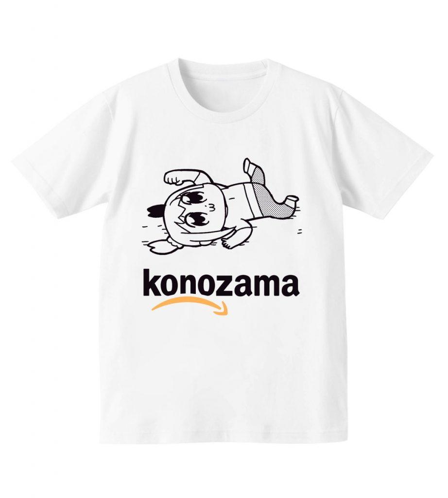 【ポプテピピック】konozamaTシャツ