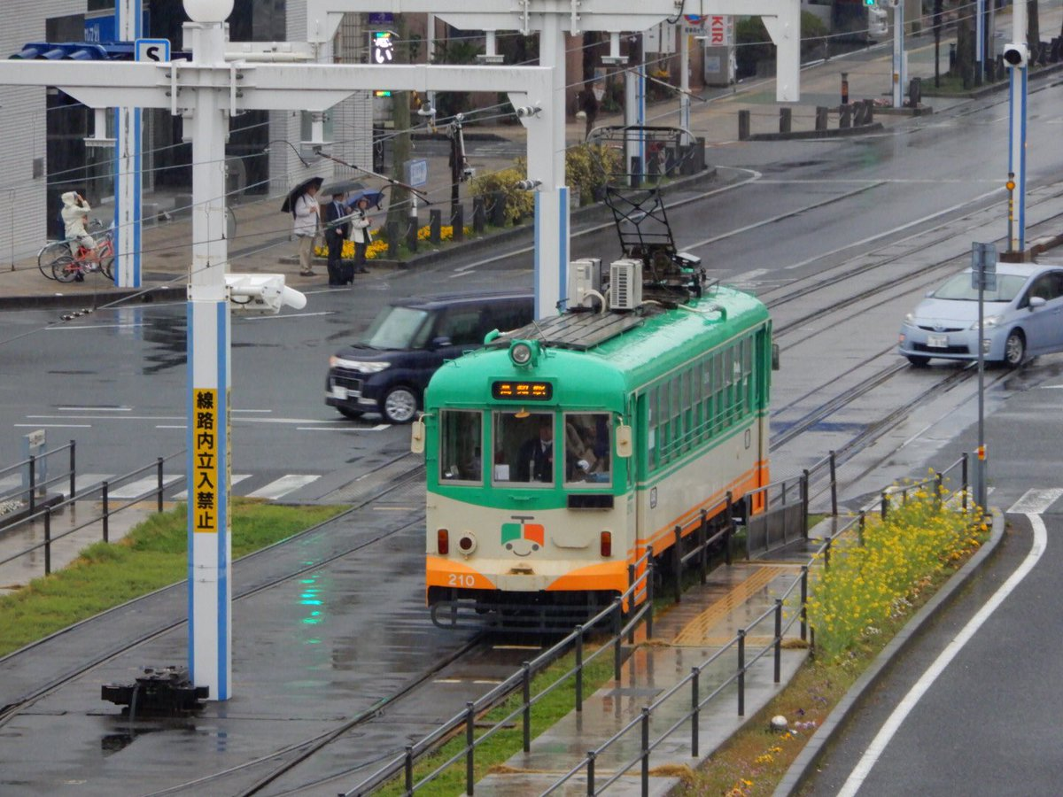 【高知200型】路面電車エアコンに室外機??
