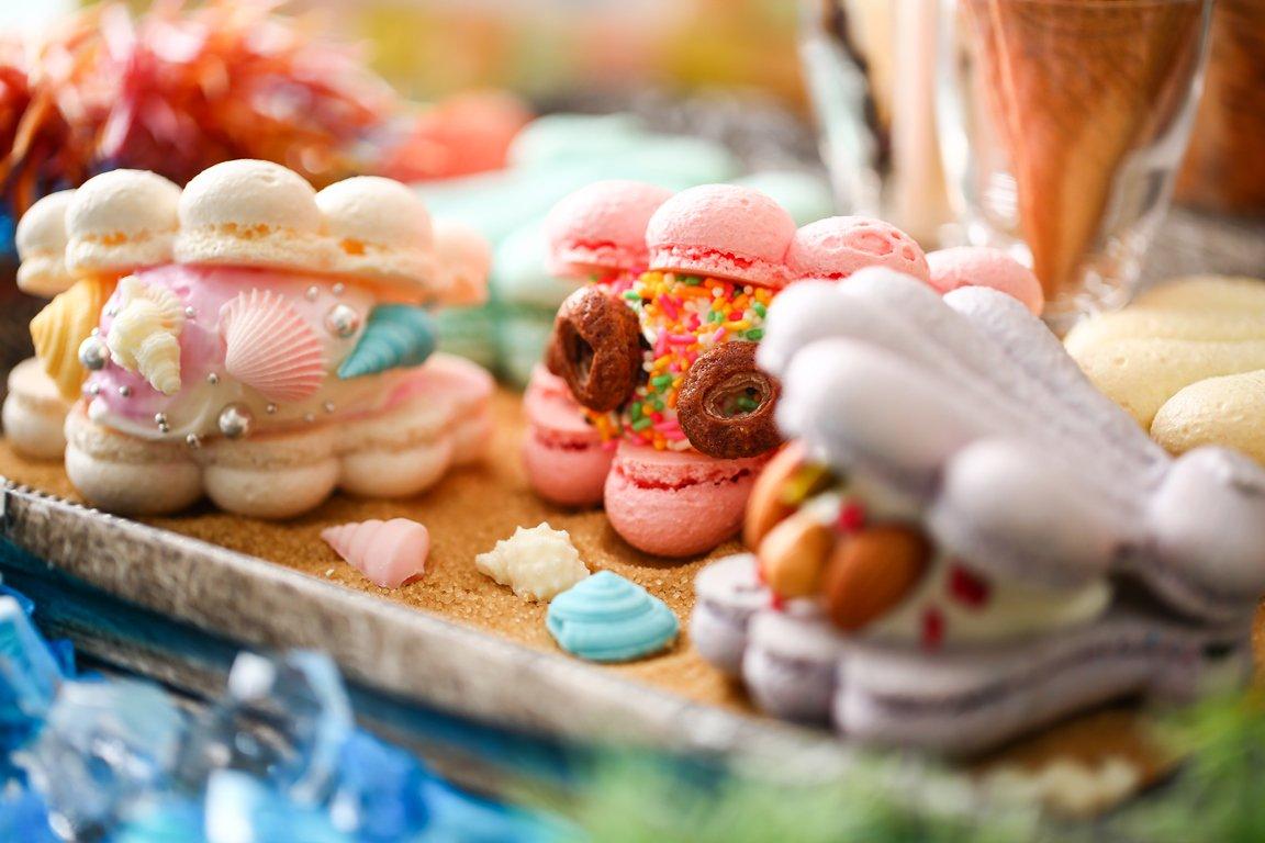 【アンダー・ザ・シー~人魚の甘い誘惑~】海の世界を楽しむデザートブッフェ