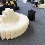 【何でもうどん】うどん県高松空港はソファもうどん