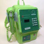 【オールレザー】実寸大公衆電話型リュックサック