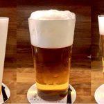 【麦酒大学】注ぎ方でビールの味を変え何種類もの味を作り出すお店@中野