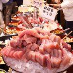 【浅草橋たいこ茶屋】刺身食べ放題ランチ(1300円)