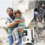 CNNが報じる「シリアで救出される少女」が毎回同じだと話題に