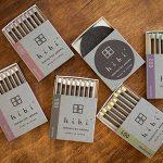 【hibi】マッチをするだけで楽しめる5種類のお香