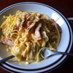 レンジのスパゲッティで圧倒的にうまくできたのがカルボナーラ