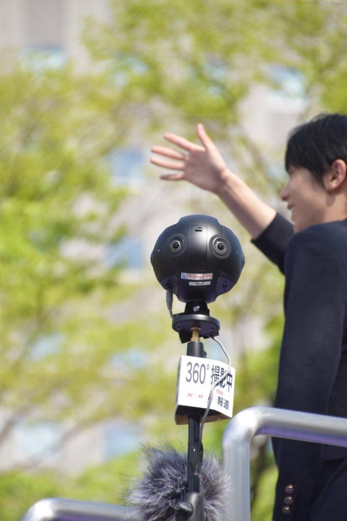 360度カメラくん、いいお仕事ありがとう