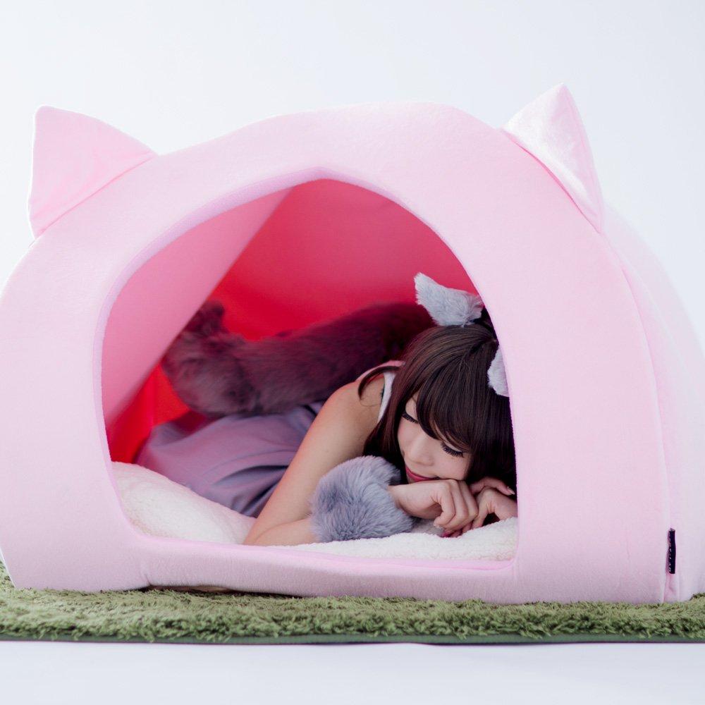 【人間用ペットハウス】猫になりたい人間のための、猫になりきる究極猫グッズ