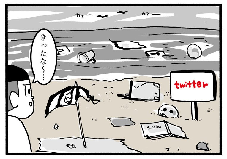 SNS別海水浴場の違い(facebook・twitter・インスタ・mixi)