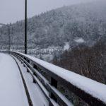 北海道・三国峠は雪景色