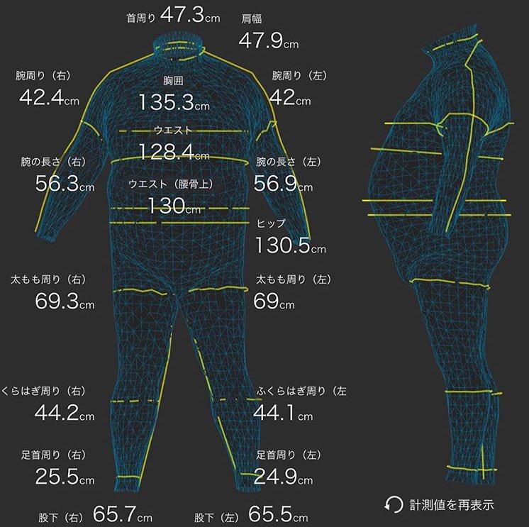 どんな体型でもしっかり着れて、測定可能なZOZOスーツ