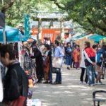 博多の住吉神社で「大博多輸入雑貨市」