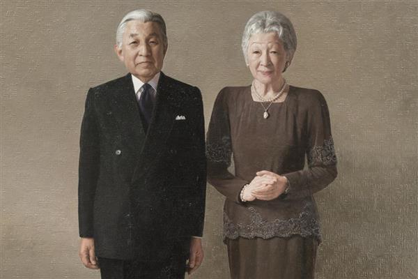 ご即位後初めての両陛下の肖像画が完成
