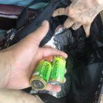 【要注意】アルミの保冷・保温バッグに乾電池を入れないで!