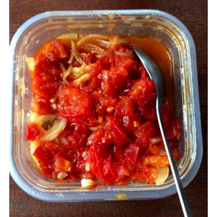 レンジで1発!チキンのトマト煮