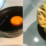 素麺の美味しい食べ方「卵黄を落として月見ダレ」