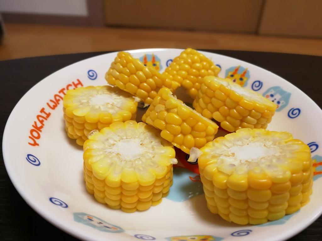トウモロコシが美味しい夏、一番簡単な調理方法