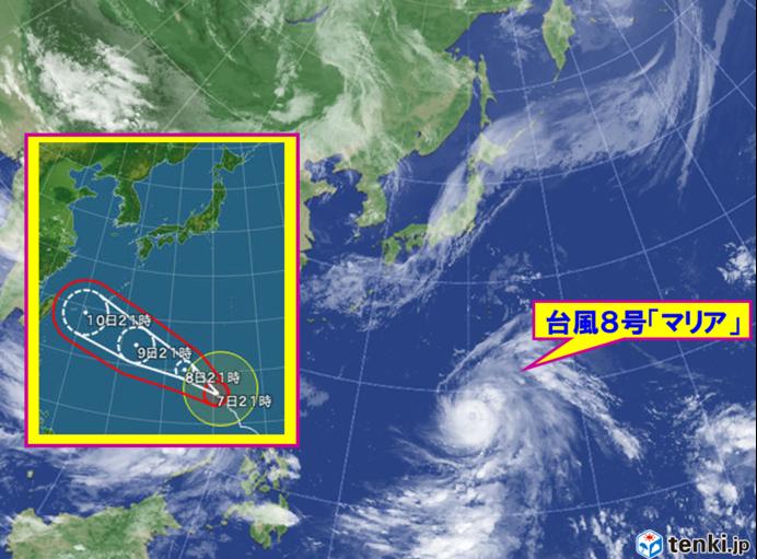 【台風の強さ早見表】接近中の台風8号の危険性を解りやすく説明