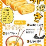 【図解】失敗しない卵焼きの作り方