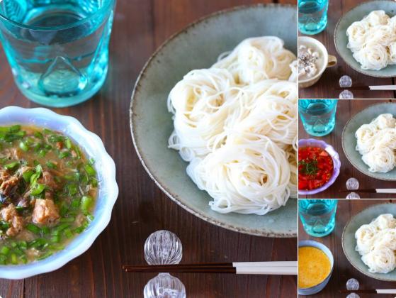 【変り素麺】めんつゆで食べるそうめんに飽きた方に朗報