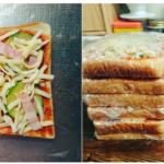 ピザトーストをまとめて作って冷凍するナイスアイデア