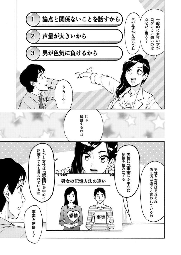 女性が、男性より口ゲンカが強い理由。