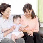 産後、パパには困難なのでその役割を『パパが』ママの実家にお願いしている