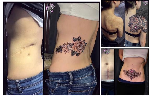 タトゥーにはこの様な使い方があります。