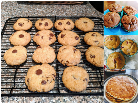 【ダイエット】プロテイン・バニラ味を小麦粉の代わりに使ったお菓子
