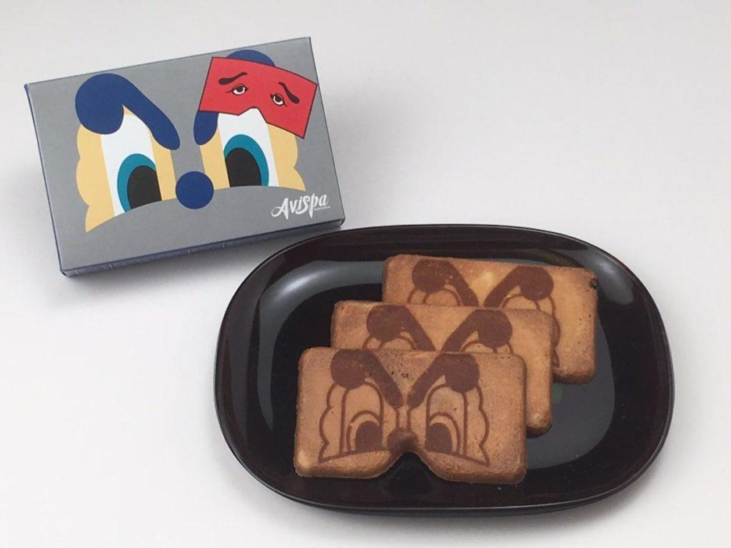 アビスパ福岡とのコラボ商品「アビスパ福岡二〇加煎餅」