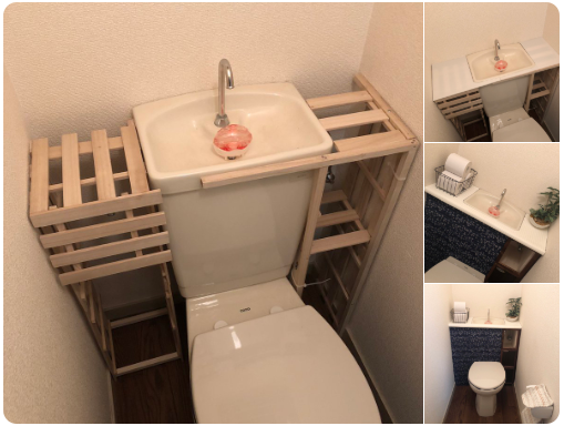 【DIY】100均グッズでトイレをタンクレス風に