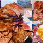 【博多もつ鍋 響】丼ぶりに一度だけお肉を好きなだけ盛れる「響丼」