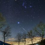 今夜と明日の夜、ふたご座流星群の流星が流れます。