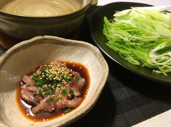 【白ネギ鍋】鳥取県名産の白ねぎが主役の鍋料理