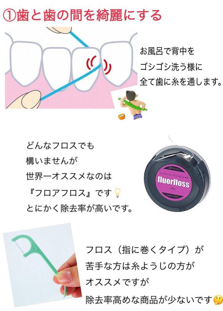 歯科衛生士が教える、磨き残しの無いハミガキ方法